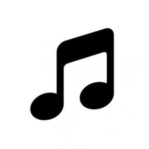 Music Note Black Vector