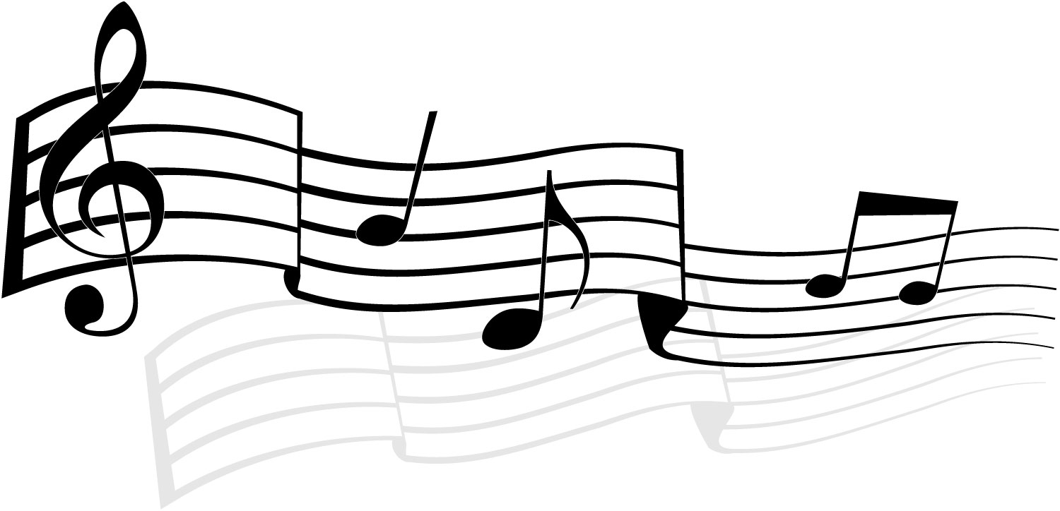 15 Vector Music Notes With Drums Images