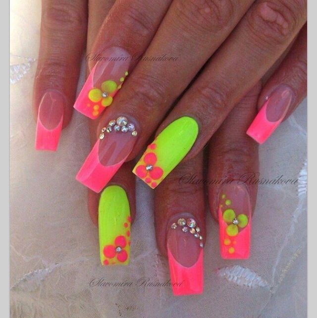 Nails Neon Colors | Best Nail Designs 2018