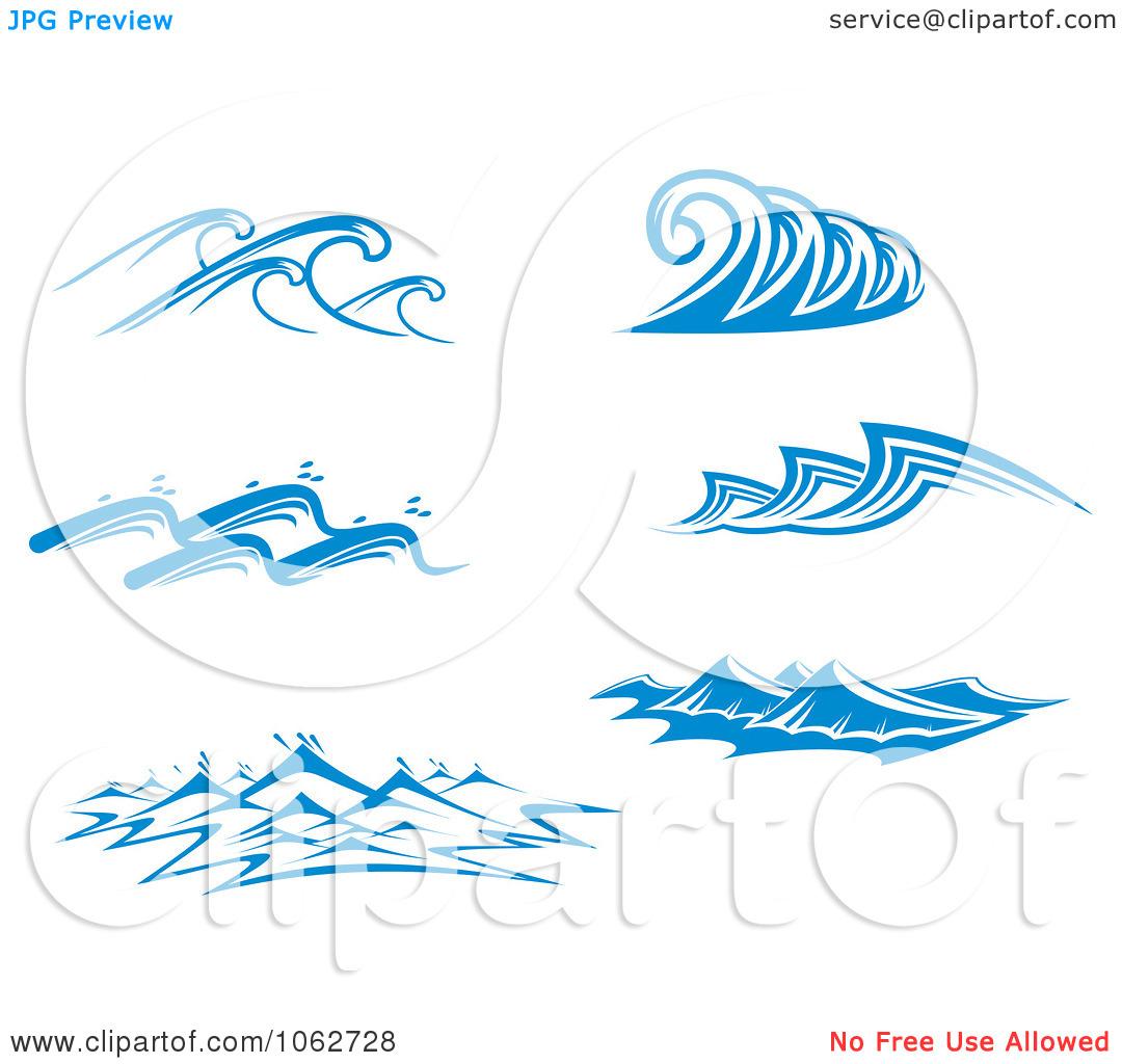 14 simple tribal waves vector images simple ocean wave