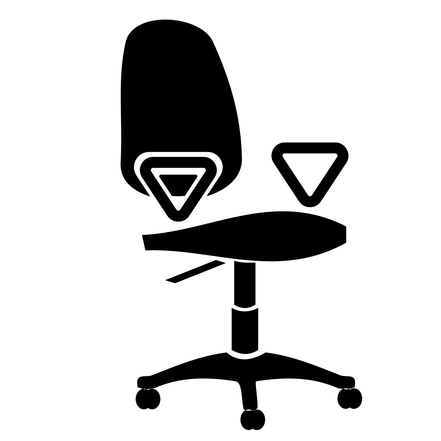 7 Office Chair Vector Images