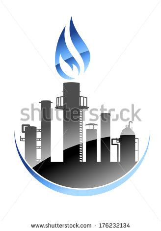 Oil Refinery Icon