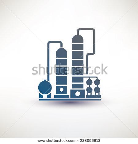 Oil Refinery Symbol