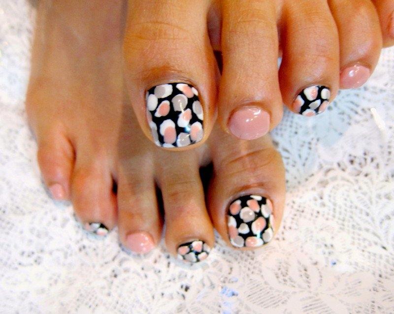 Pedicure Nail Art Design Ideas