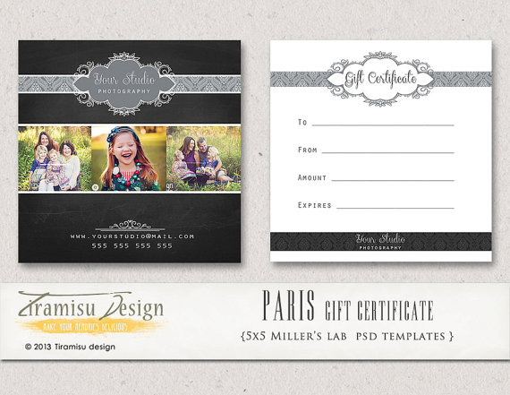 Photography gift certificates templates free idealstalist photography gift certificates templates free yelopaper Gallery