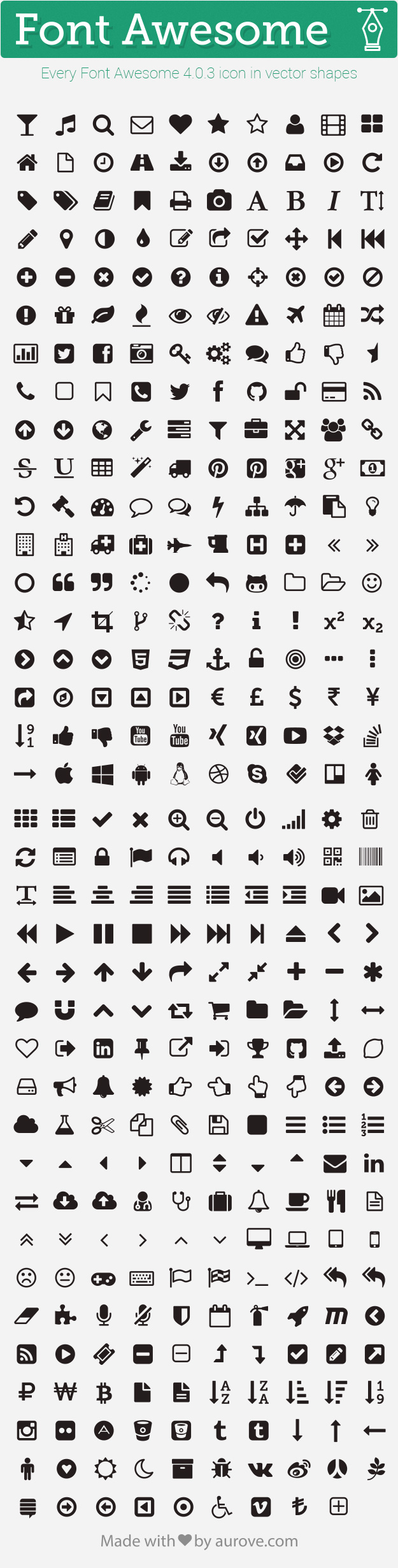 Photoshop Font Awesome Icon
