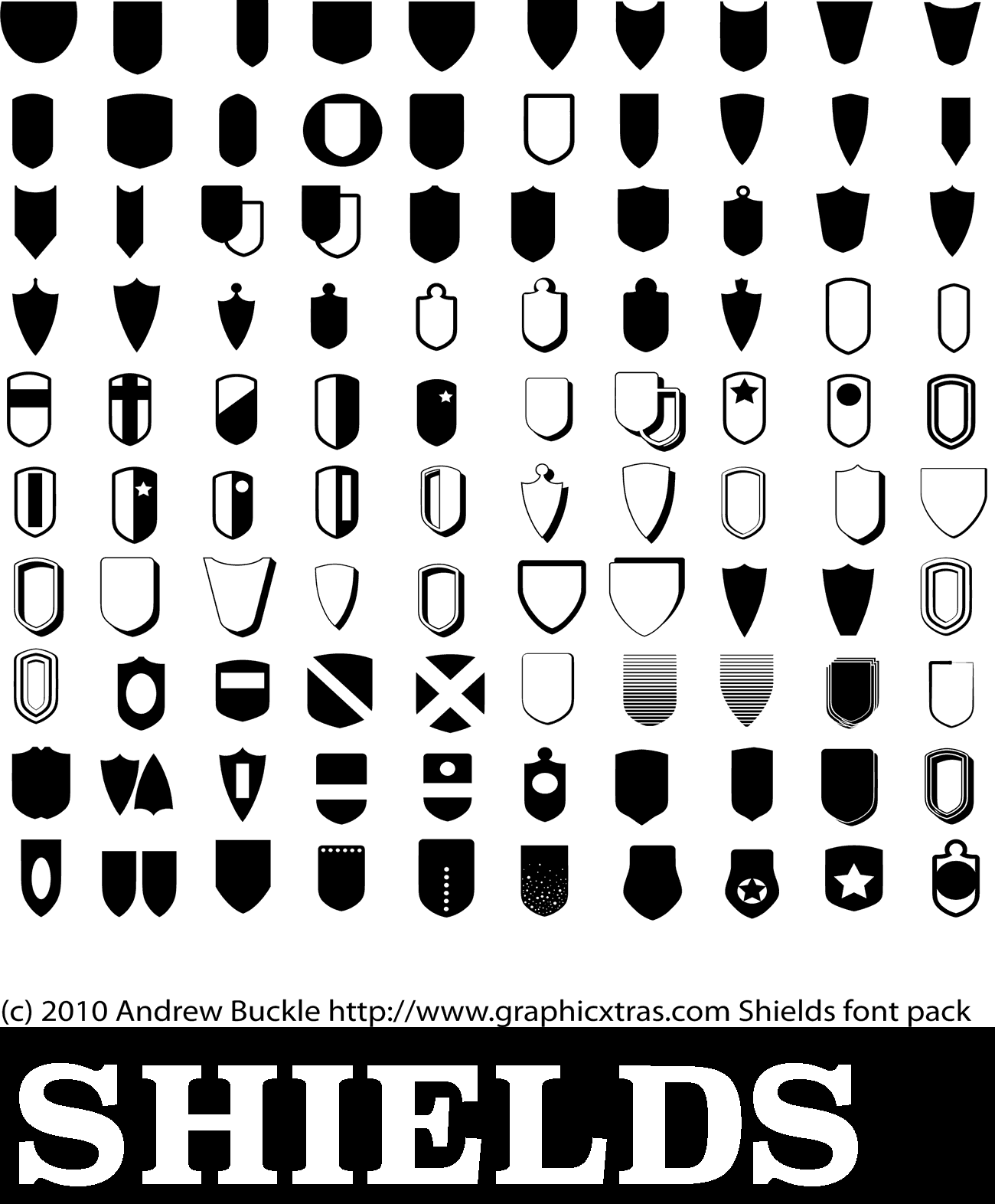 Photoshop Shield Shapes