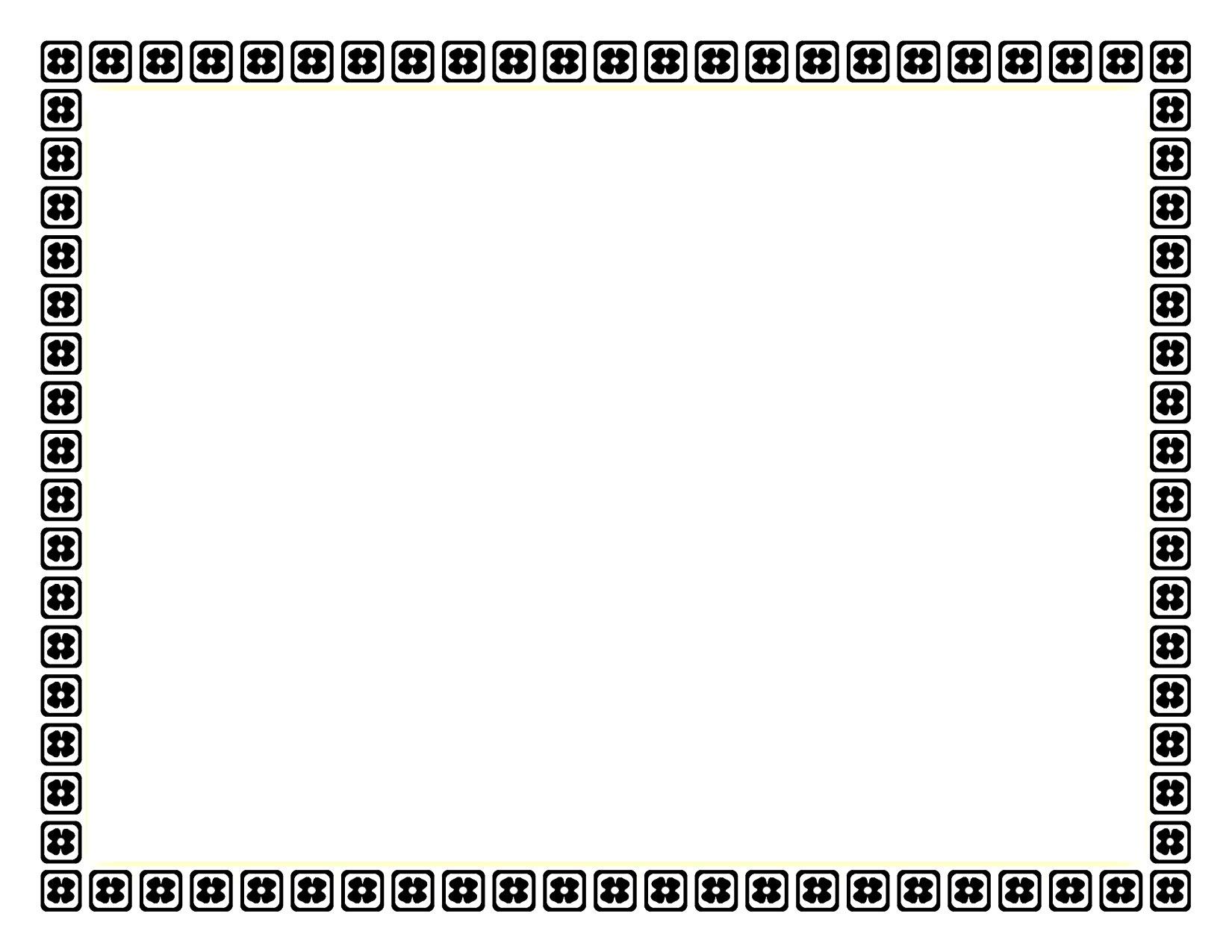 15 Borders Designs Color Frames Images