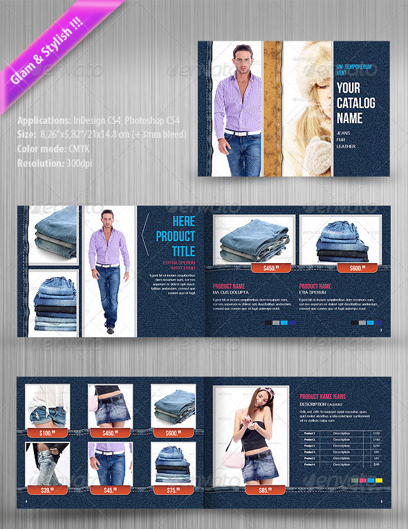 Product Catalog Design Template