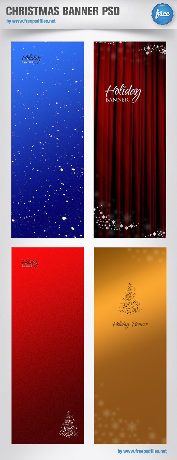 PSD Banner Templates Free Download