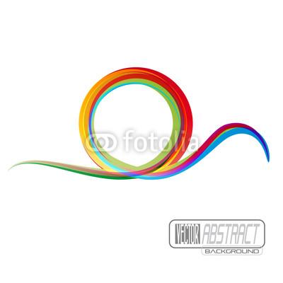 Rainbow Wave Logo