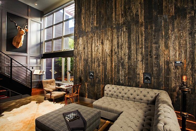 Retro Industrial Interior Design Ideas