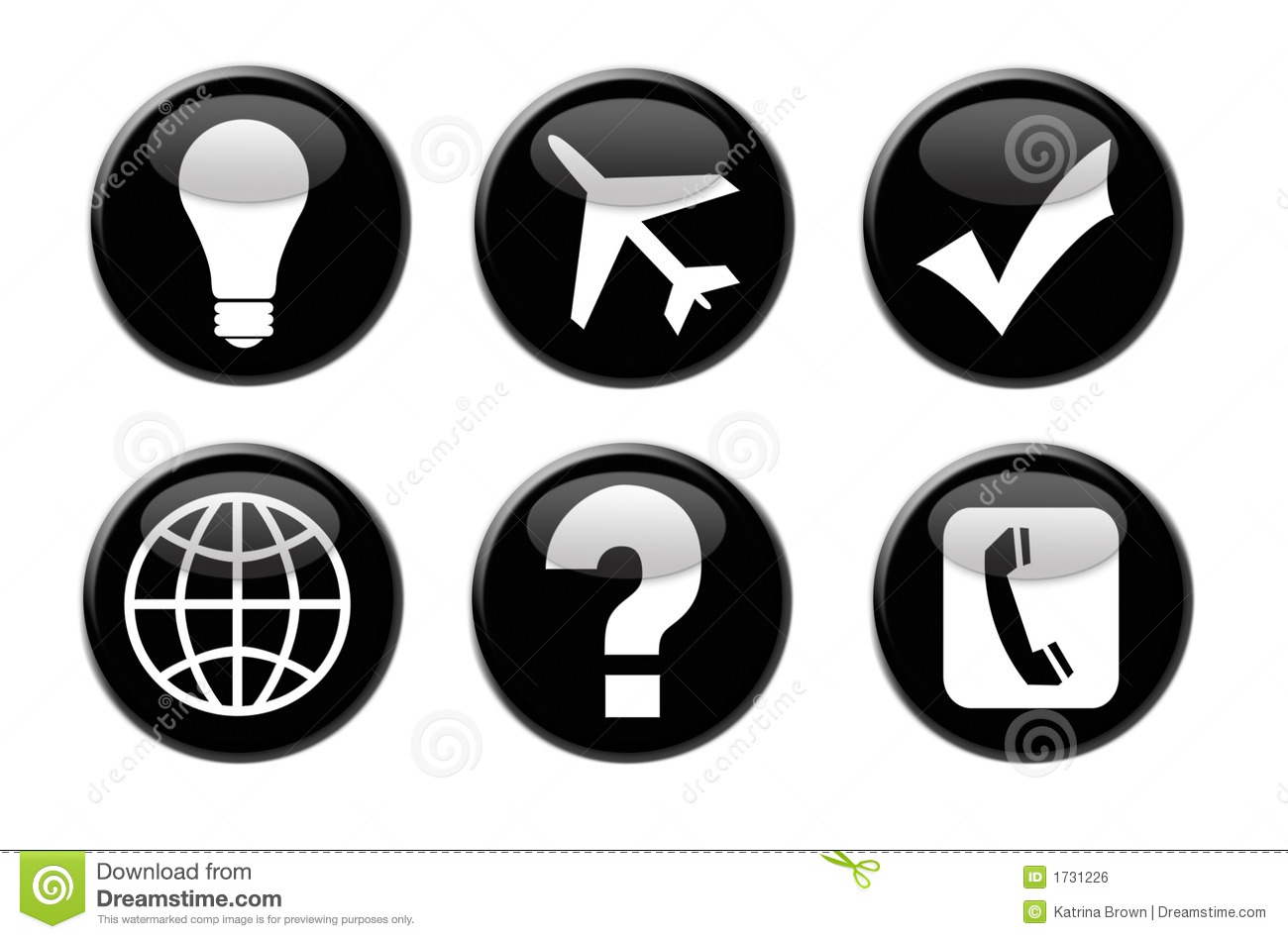 Royalty Free Business Travel Icon