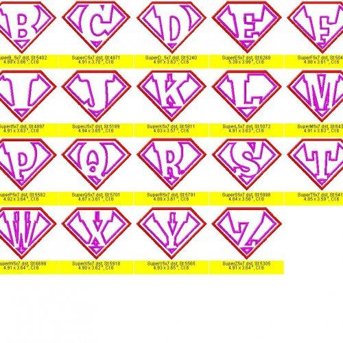 13 Superman Alphabet Font Images
