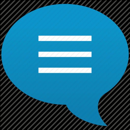 Text Message Bubble Icon