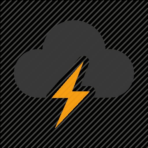 14 Storm Weather Icon Images - Thunder and Lightning ...  14 Storm Weathe...