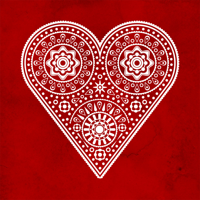 Valentine Heart Patterns