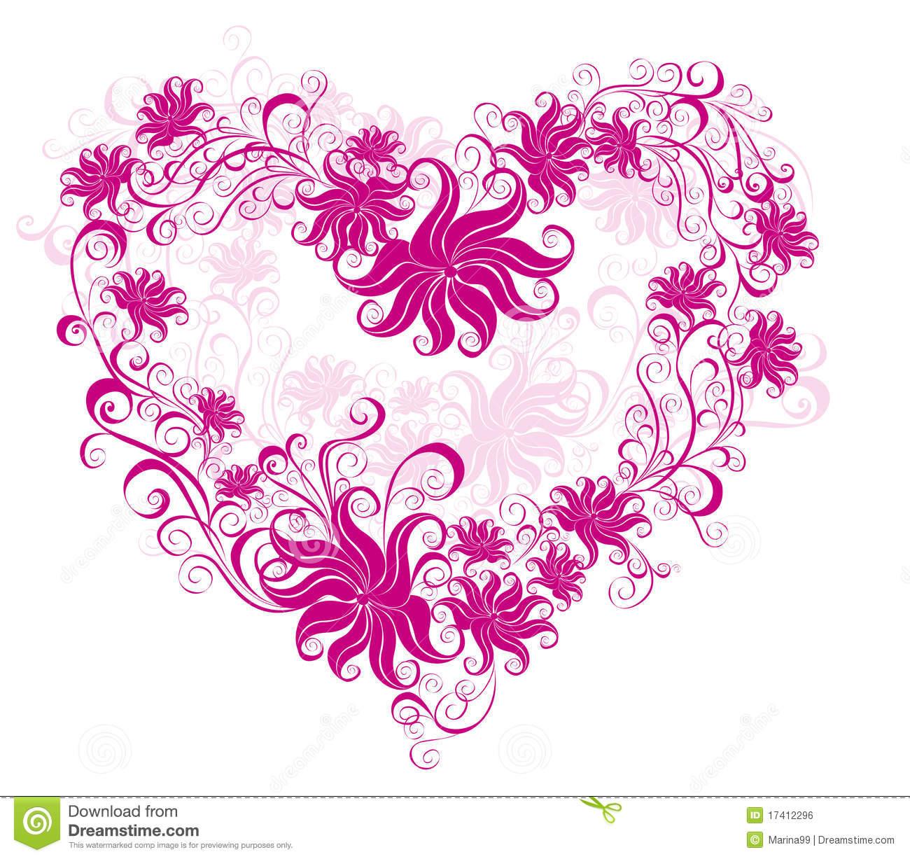 Valentines Heart Vector Illustration