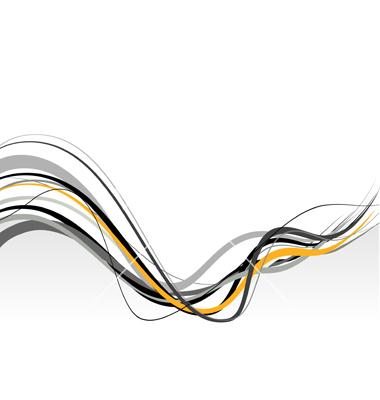 Vector Wavy Lines