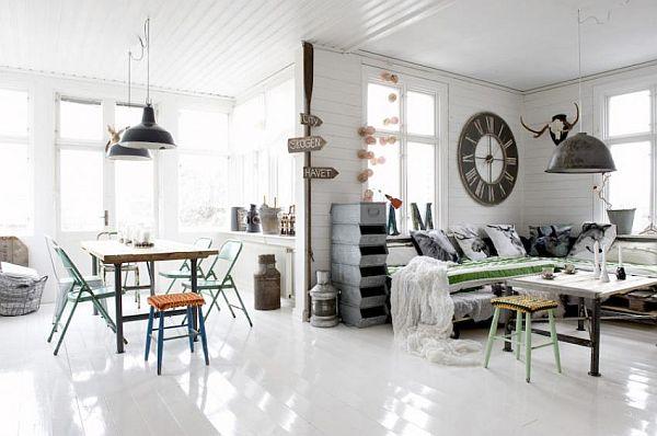 Vintage Industrial Interior Design Ideas