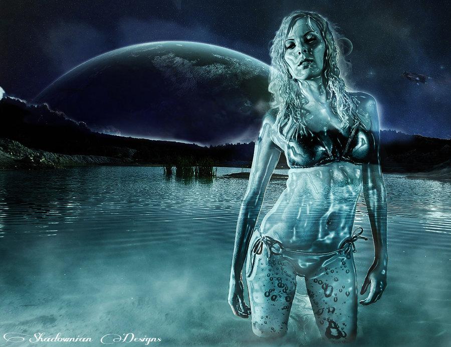 Water Photoshop Tutorial Woman