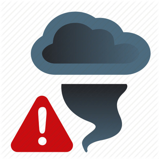 14 Storm Weather Icon Images - Thunder and Lightning ... Hurricane Warning Clip Art