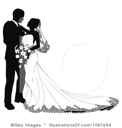 15 Graphic Wedding Couple Images