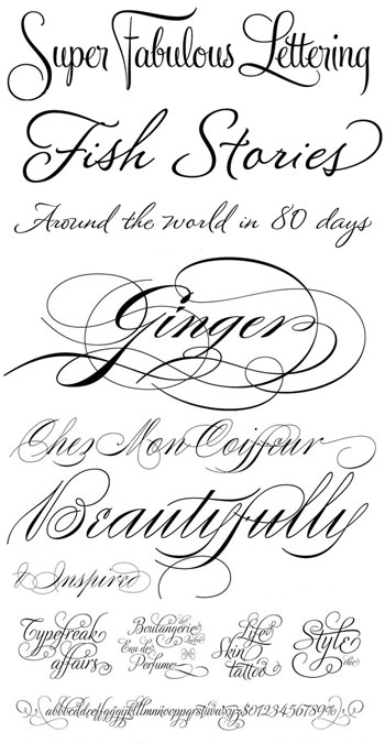 14 Wedding Announcement Fonts Images