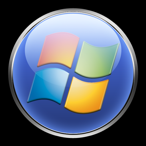 11 Win 7 Orb Icon Transparent Images Windows 7 Start Orb