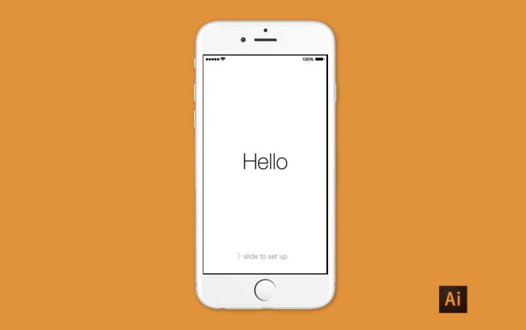 6 iPhone Vector Template