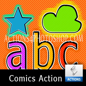 Action Comics Text