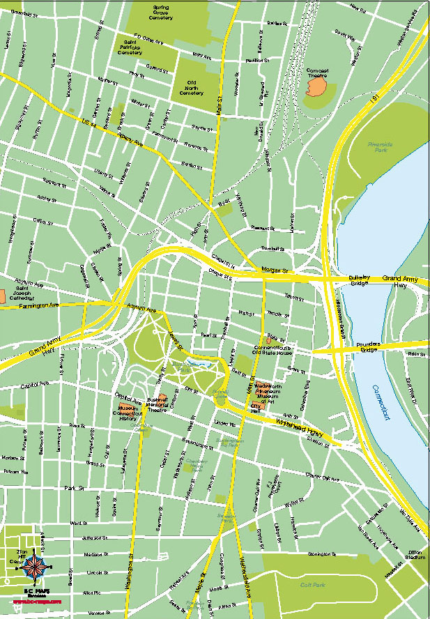 10 Boston Digital Vector Map Images