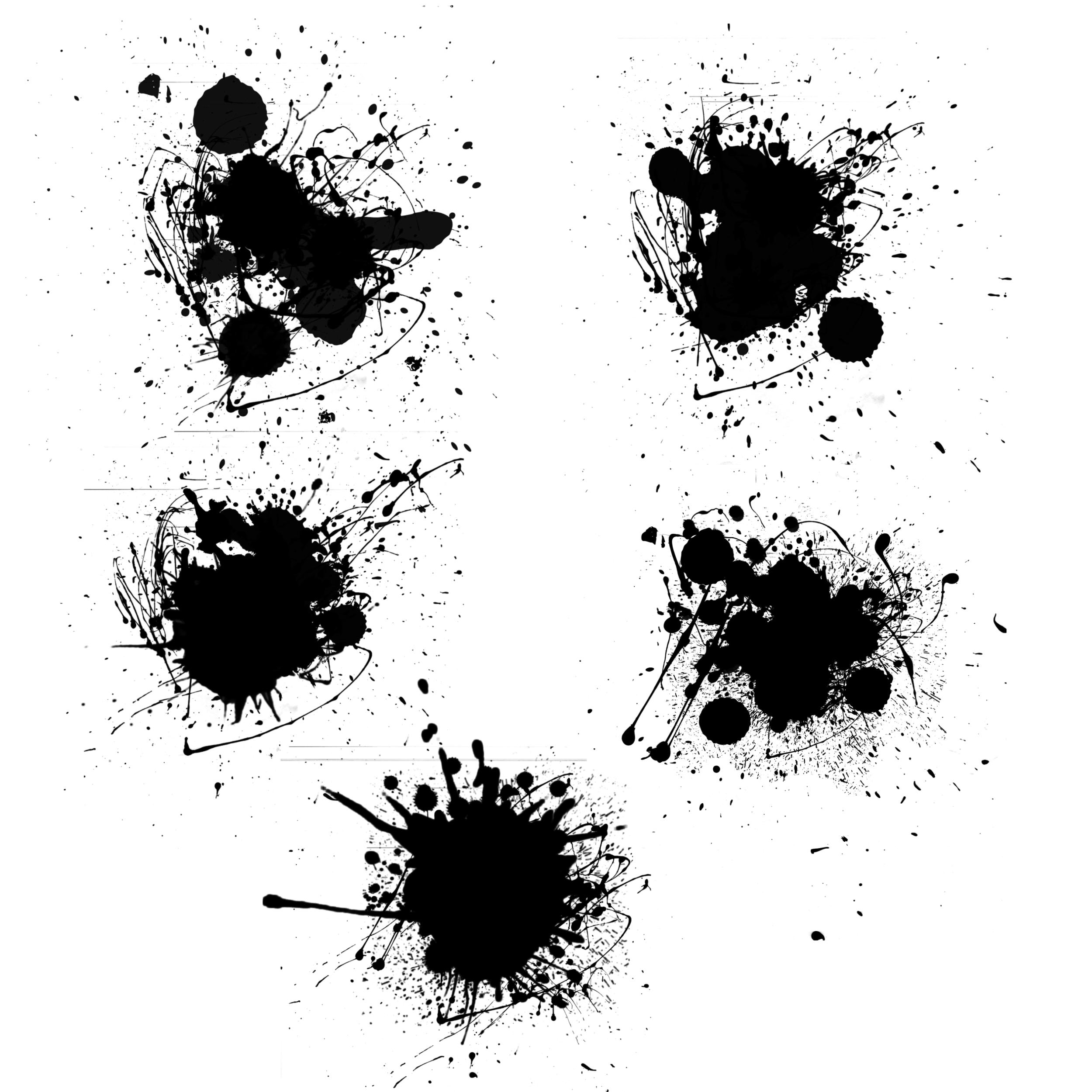 Art Paint Brush Splatter