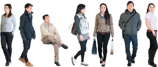 Asian People Cutouts Photoshop