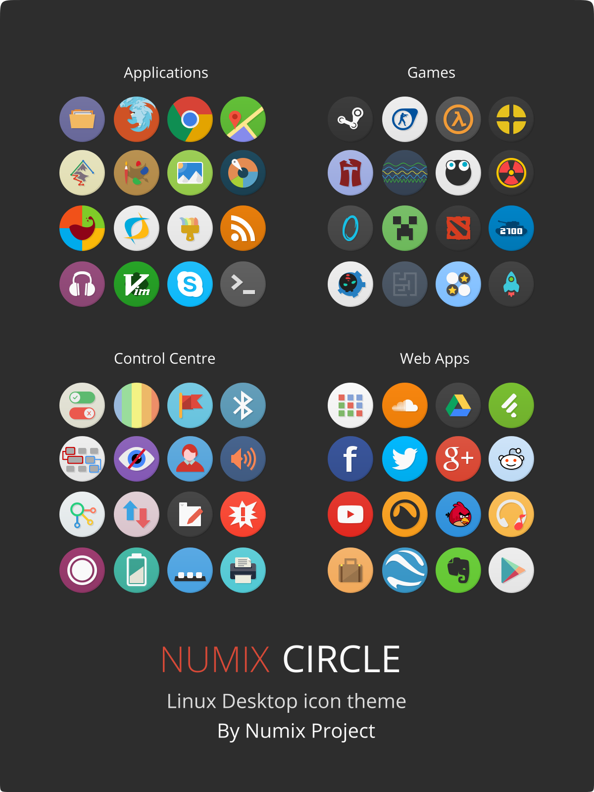 12 Circle Computer Icon Images