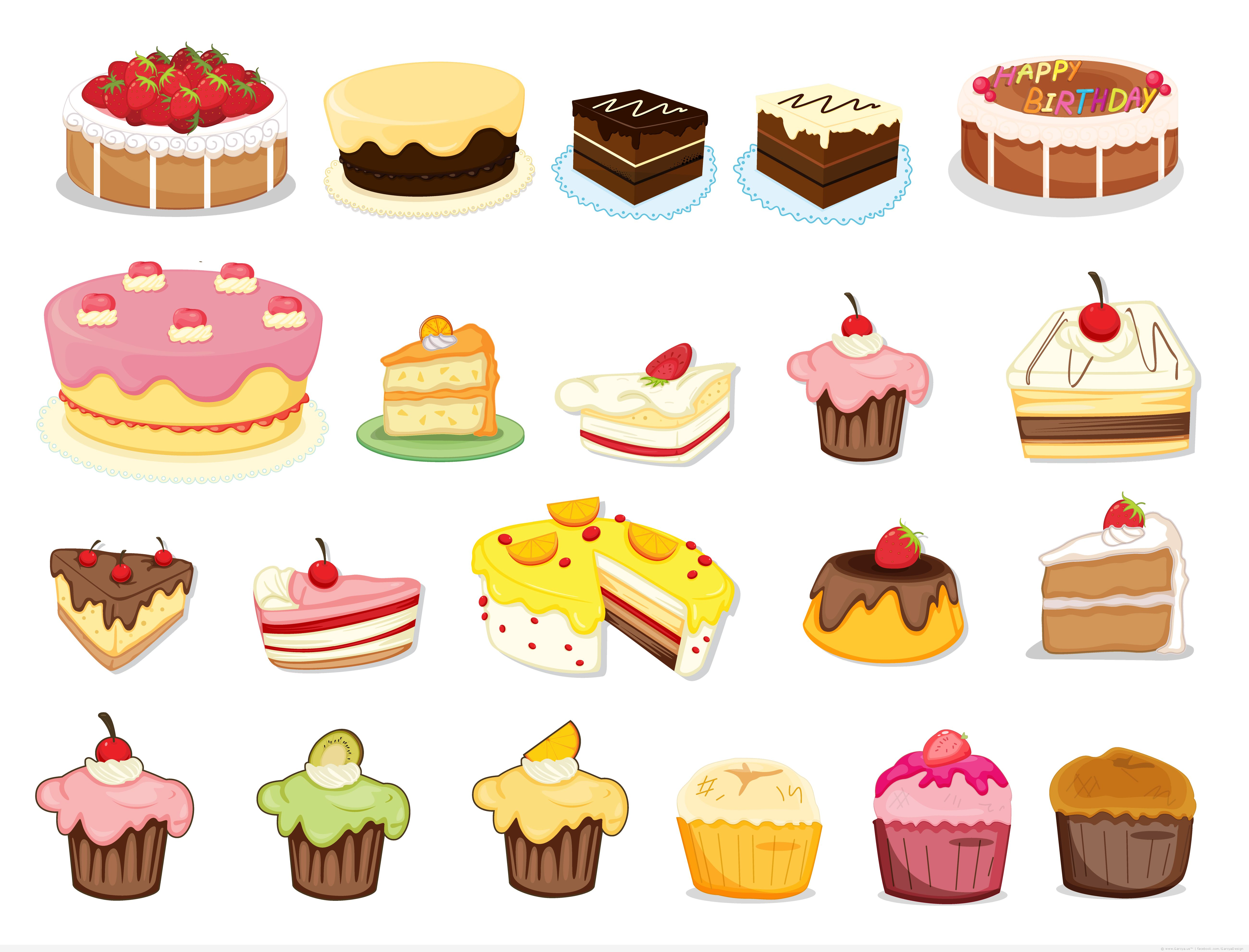 19 Cake Vector Free Images