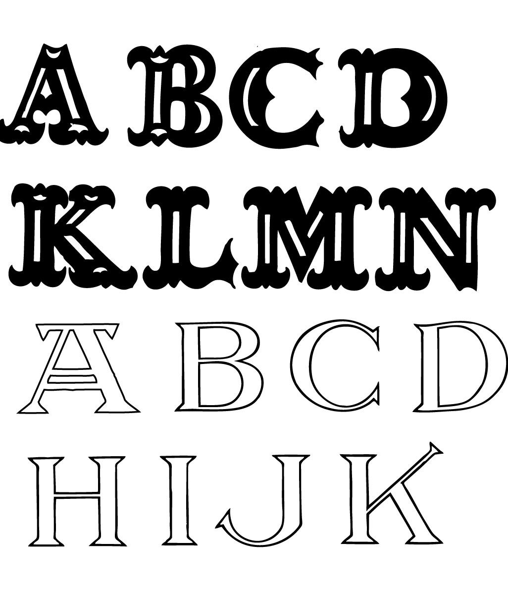 16 Free Lettering Fonts Images
