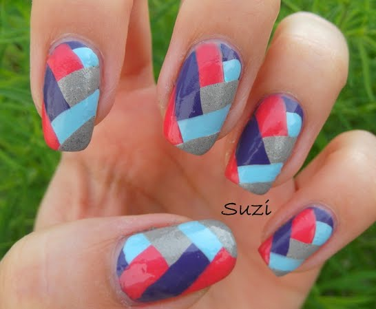 Nail design v beautify themselves with sweet nails 15 nail designs v images v shaped nails design nail designs with v prinsesfo Images