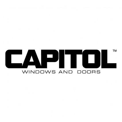 Capitol Records Building Vector