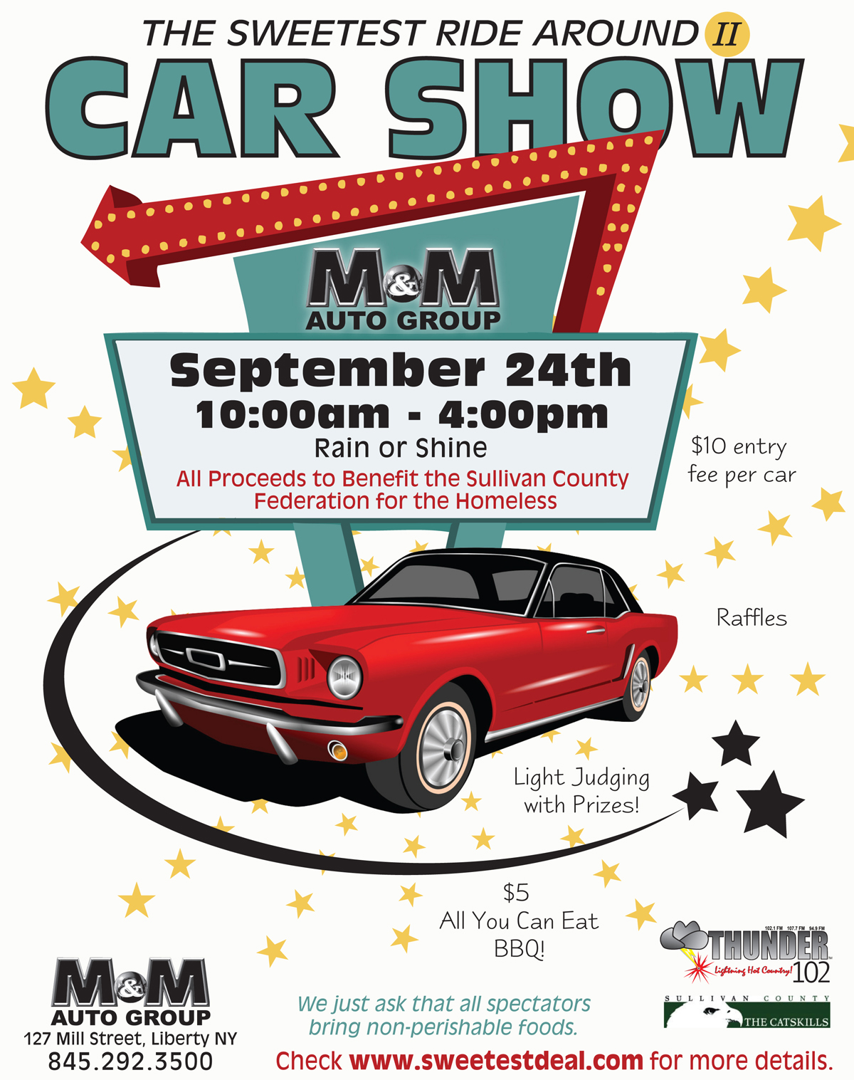 Classic Car Show Poster Template