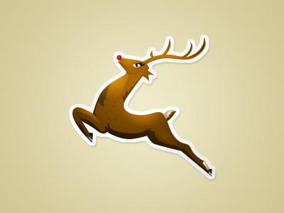 6 Reindeer PSD Files Images