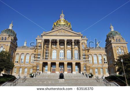 Des Moines Iowa Capitol