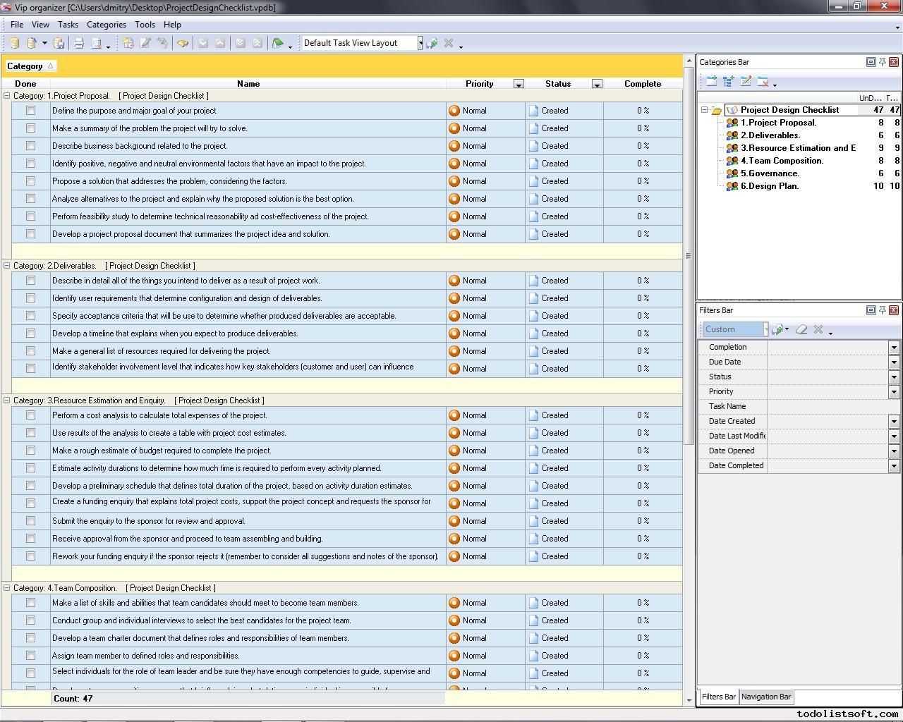 10 Design Deliverables Checklist Template Images