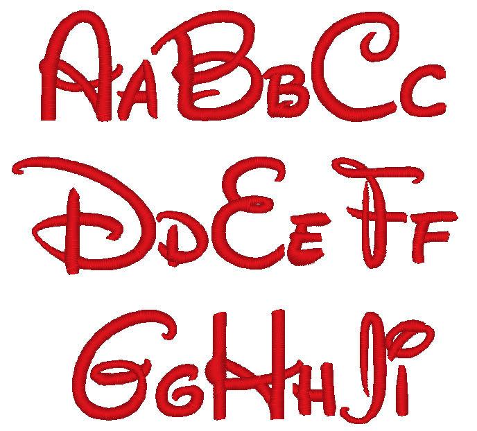 14 Disney Font Alphabet Letters Images