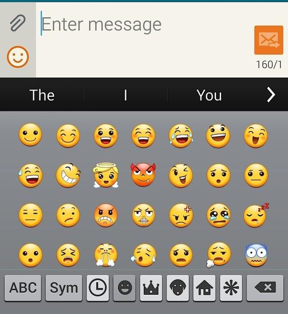Emojis Samsung Galaxy S5