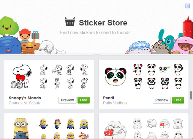 17 Snoopy Emoticon For FB Images