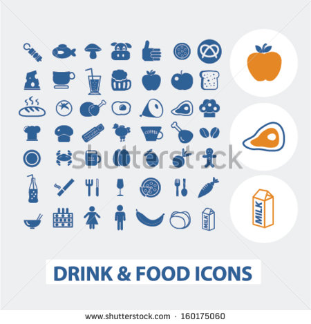 Food Grocery Store Icons