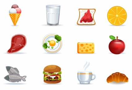 Food Icons Free Download