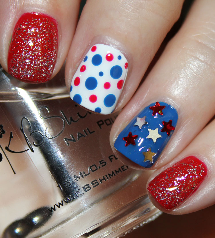 Fourth of July Nail Art Ideas
