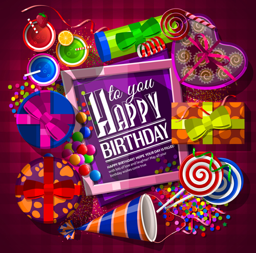 Free Happy Birthday Photo Frame